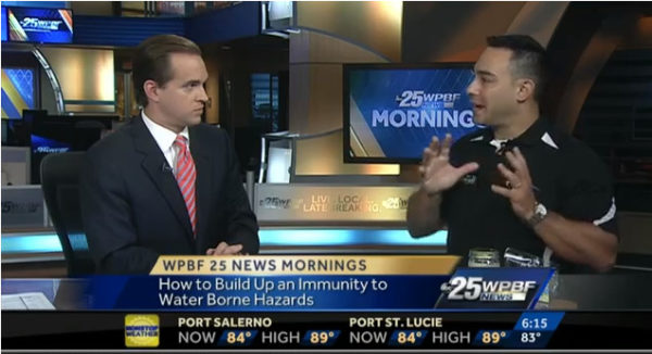 Dr. Dan Rukeyser on WPBF morning news.